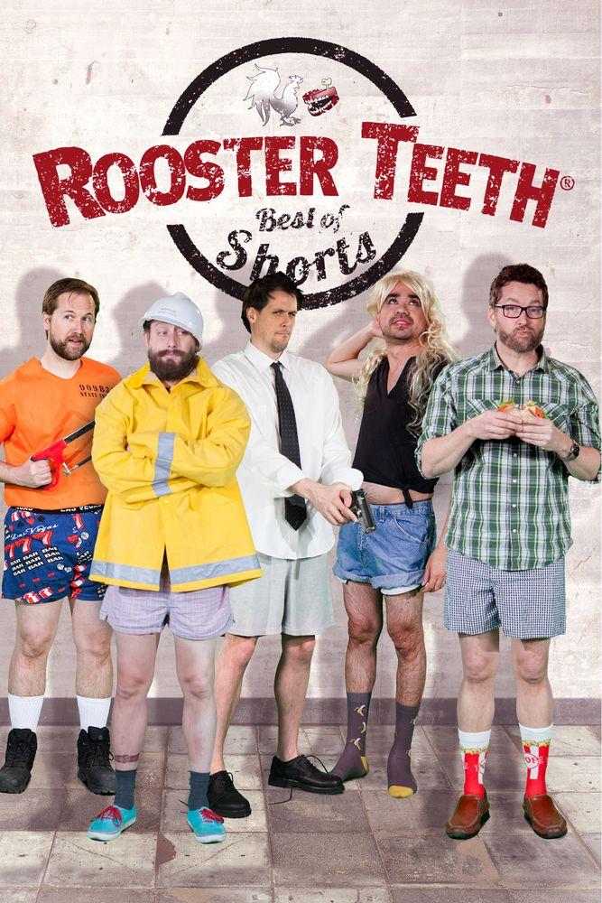 Best of Rooster Teeth Shorts Movie Poster - Burnie Burns, Chris Demarais, Brandon Farmahini  #MoviePoster, #Comedy, #Unknown, #BrandonFarmahini, #BurnieBurns, #ChrisDemarais