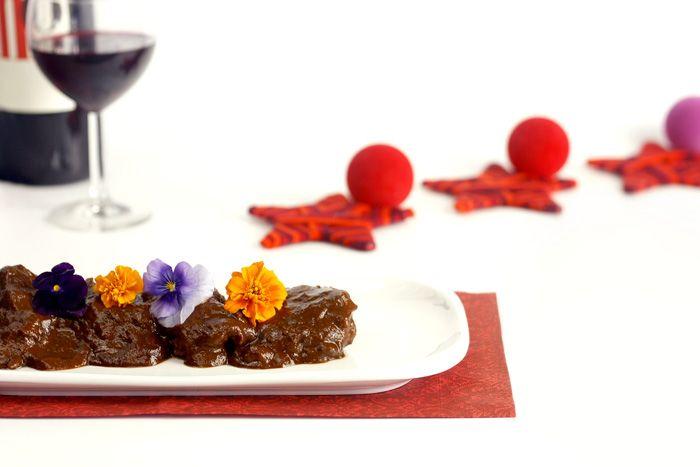 Crockpotting | Rabo de ternera al chocolate en Crock Pot | http://www.crockpotting.es #crockpot #crockpotting #slowcooker #recipes #recetas