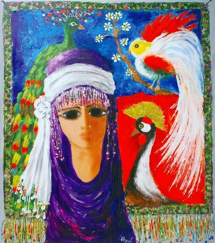 Fikret Otyam Turkish Artist Painter