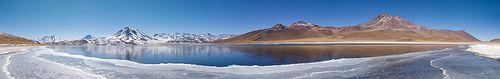 Chili - Atacama - Reserve Flamigo - Lac