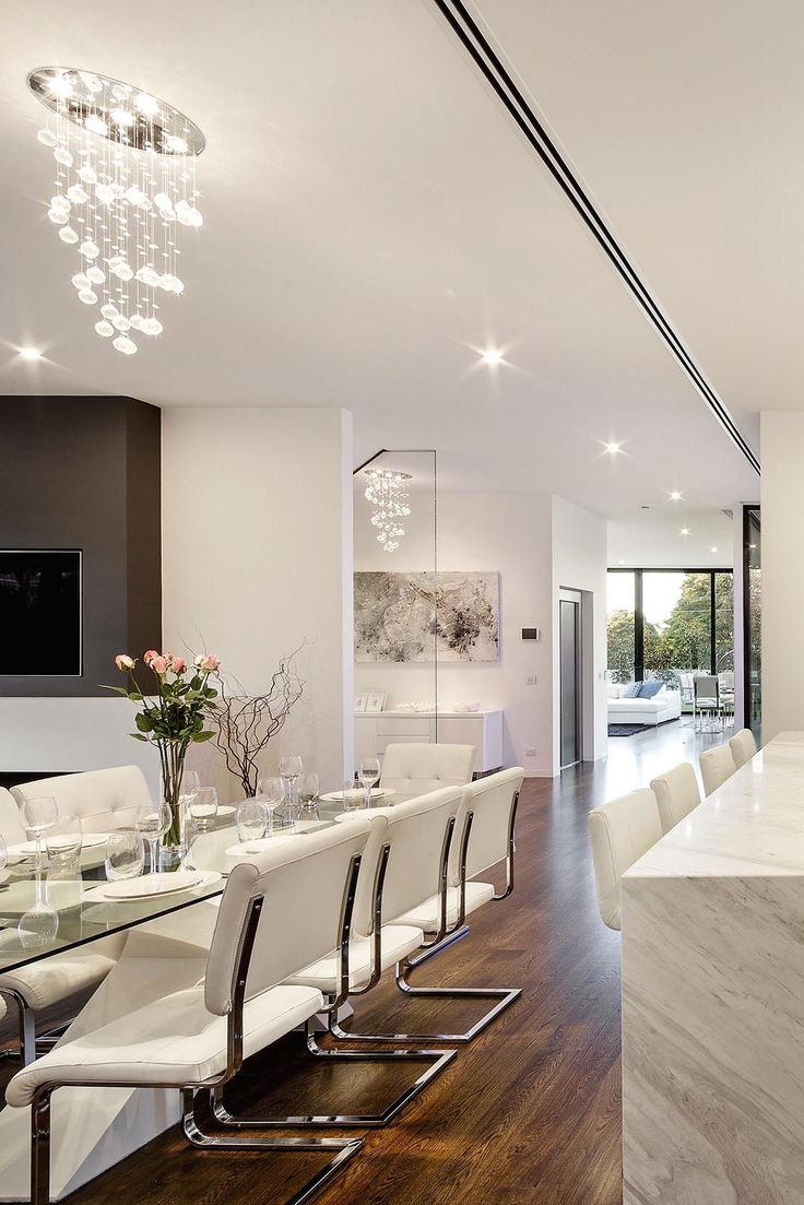 Modern open concept Kitchen & Dining area