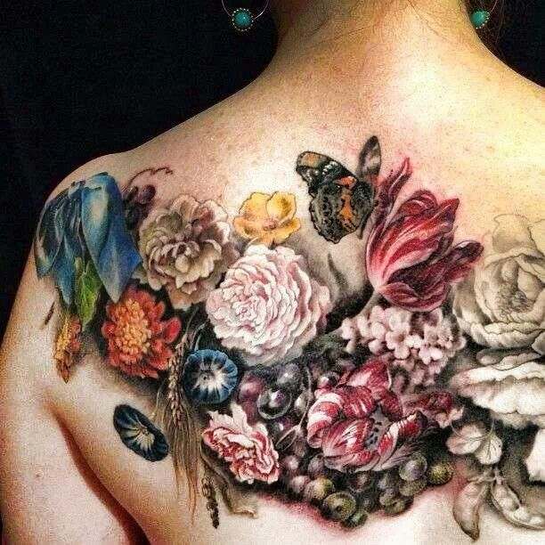 Tattoo Ideas Vintage: 25+ Best Ideas About Vintage Floral Tattoos On Pinterest