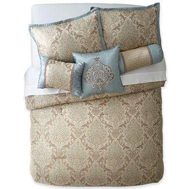 Calista 7-pc. Comforter Set & Accessories - jcpenney