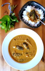Spicy Gravy with Brinjal & Coconut-Poppy seed paste I am very picky about this particular veggie brinjal. I do not enjoy all the d...