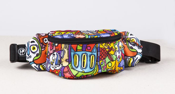 #bumabag #bumbagr #funnybag #bag #pattern #cats #serebe #artist