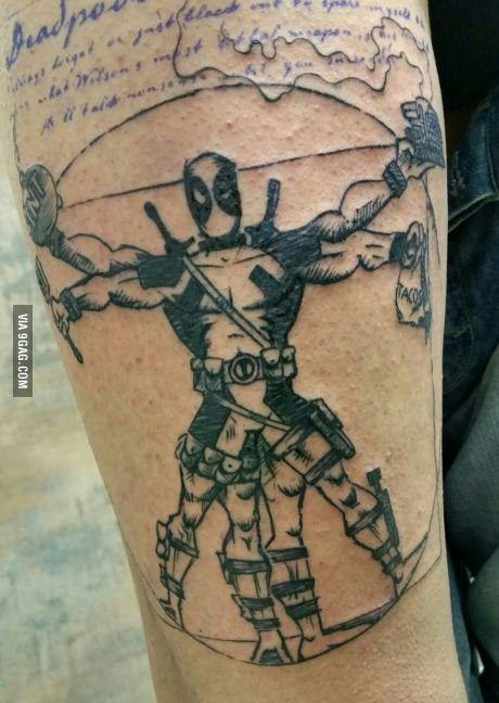 My new tattoo in progress...