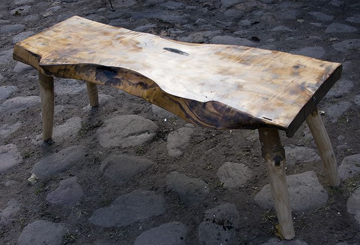 Birch coffee table.