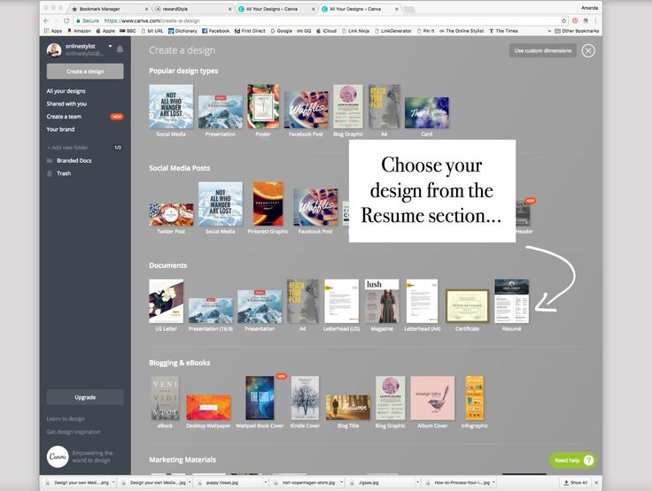 Working With Brands | Design Your Own Media Kit - The Online StylistThe Online Stylist