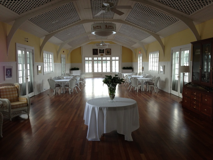 Muskoka Lakes Golf & Country Club - they turned a boat house into a dance floor so you're technically dancing on the water out in the lake. Great spot!