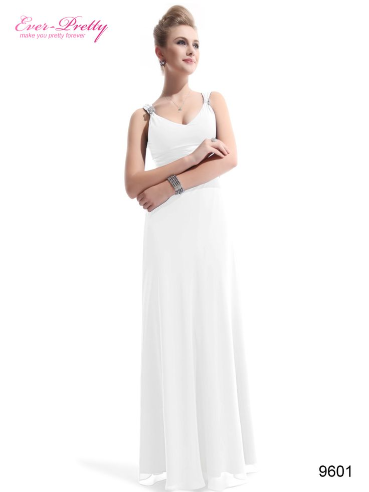 Ever Pretty Chiffon Sexy Double V Neck Diamantes Party Evening Dress 09601