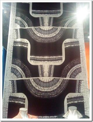 Maud Fredin Fredholm - '60's Swedish textile designer - printed yardage for jackets