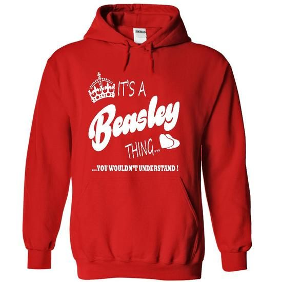 Its a Beasley thing, You Wouldnt Understand !! - #gift for women #gift card. ACT QUICKLY => https://www.sunfrog.com/Names/Its-a-Beasley-thing-You-Wouldnt-Understand-2346-Red-21015194-Hoodie.html?68278