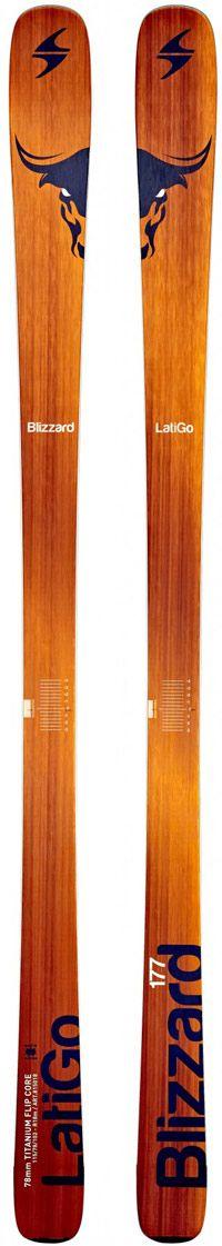 Topsheets of 2015 Blizzard Latigo Skis For Sale