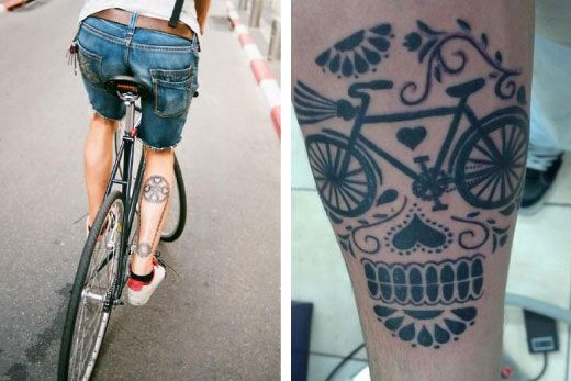 Bicycle Tattoos #tattoos  #bike  #bicycle