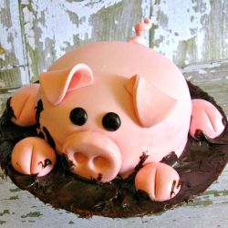 37 Best Images About Cakes Barnyard Farm Animal Tractor