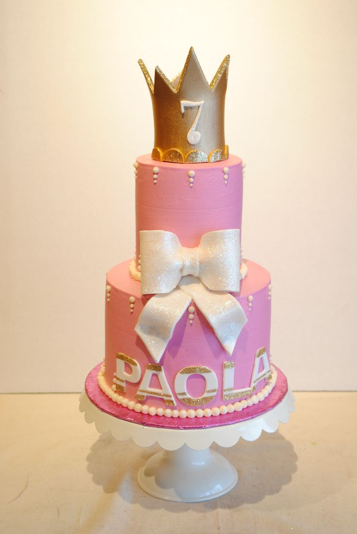 Cake Decorating Crowns : 7 best images about Princess Cakes. on Pinterest Coins ...