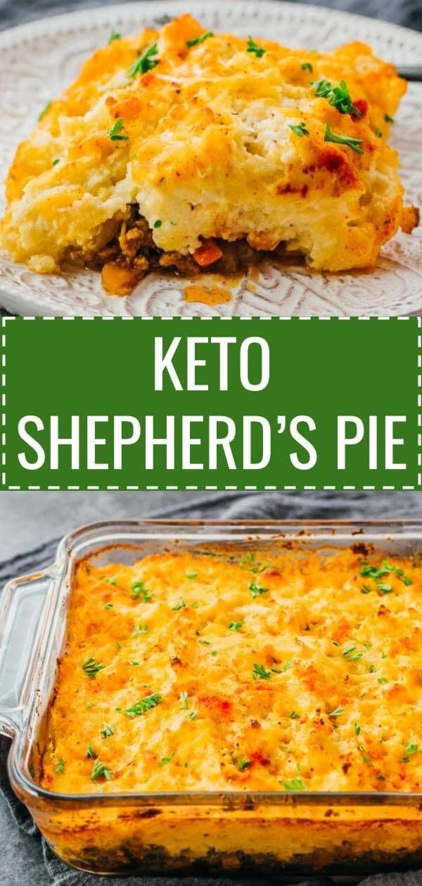 a healthy keto version of traditional shepherd s pie with lamb or rh in pinterest com