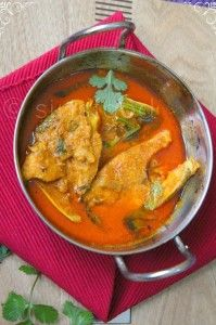 Bengali Yogurt Fish Curry | Spicy Fish Curry with Coconut Poppy Seeds Masala - Sirisfood