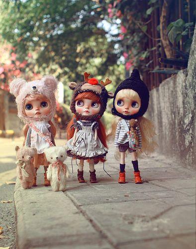 Ribonetta Wish Blythe doll by K07doll