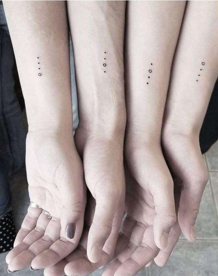 3 Punkte Tattoo