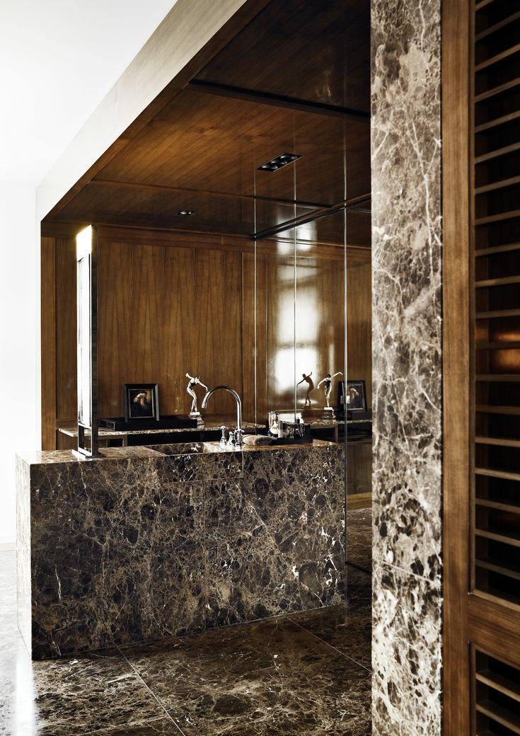 Bathroom - London Apartment by Christian Liagre
