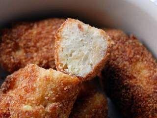Croquettes poulet & parmesan