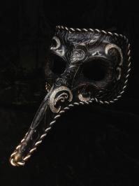 Masks:Black Carnival Plague Mask