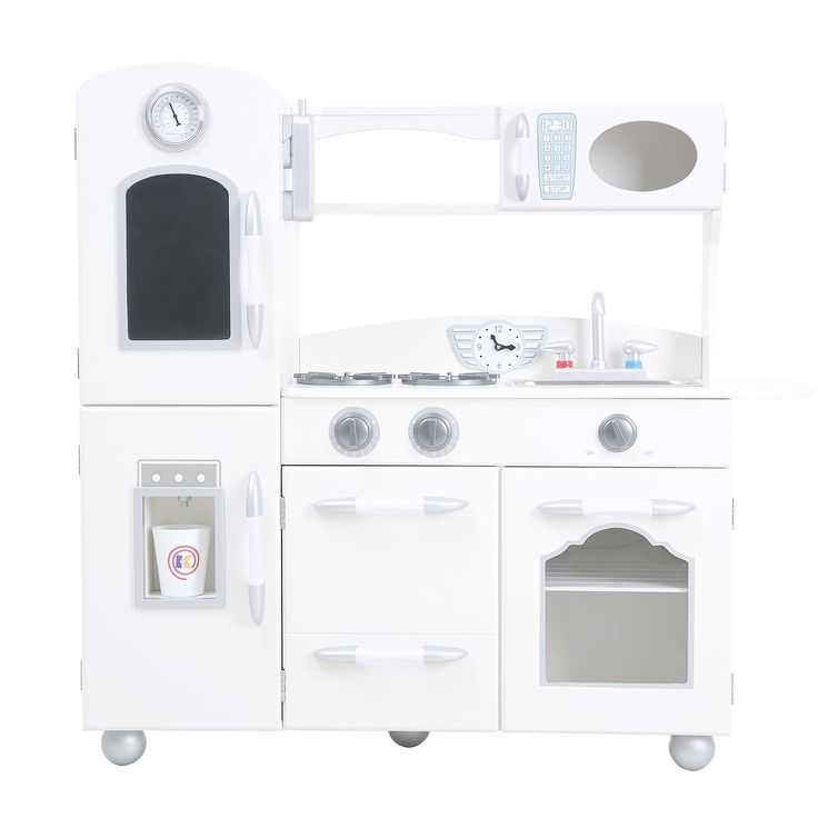 Teamson Kids Wooden Play Kitchen Set gets free shipping to your business from Wayfair Supply - Great deals on all office products with an amazing selection to choose from.