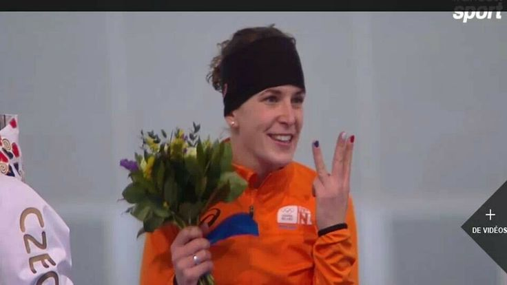 3 times gold for Irene Wust!!