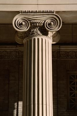 Greek Column Crafts- Simple design to use and develop, in particular like the top.
