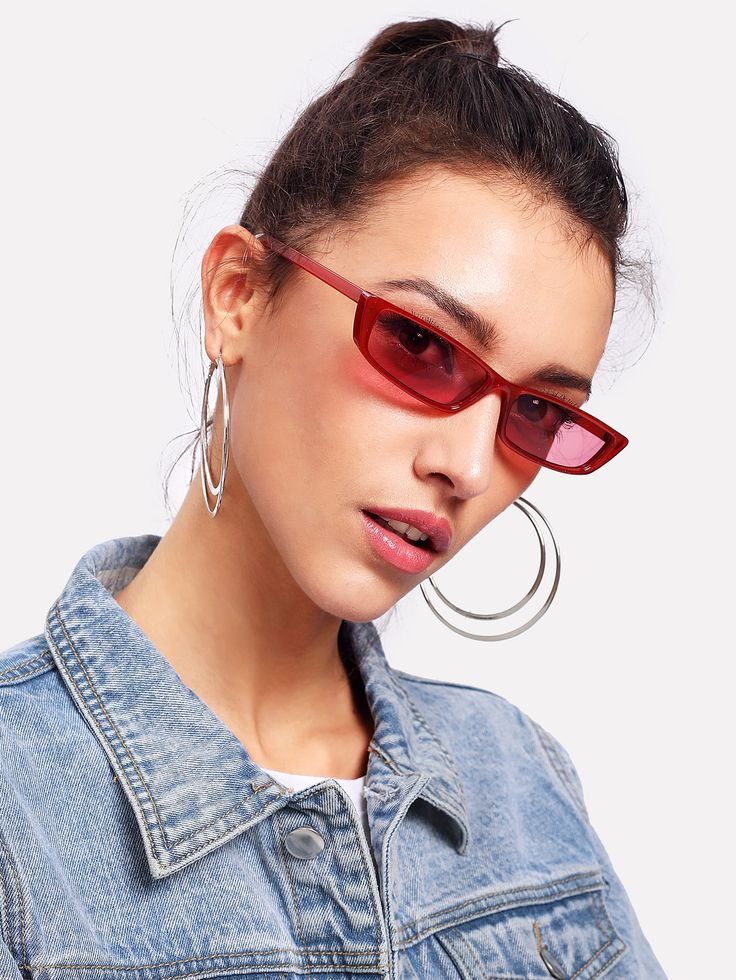Shop Tinted Lens Sunglasses online. SheIn offers Tinted Lens Sunglasses & more to fit your fashionable needs.