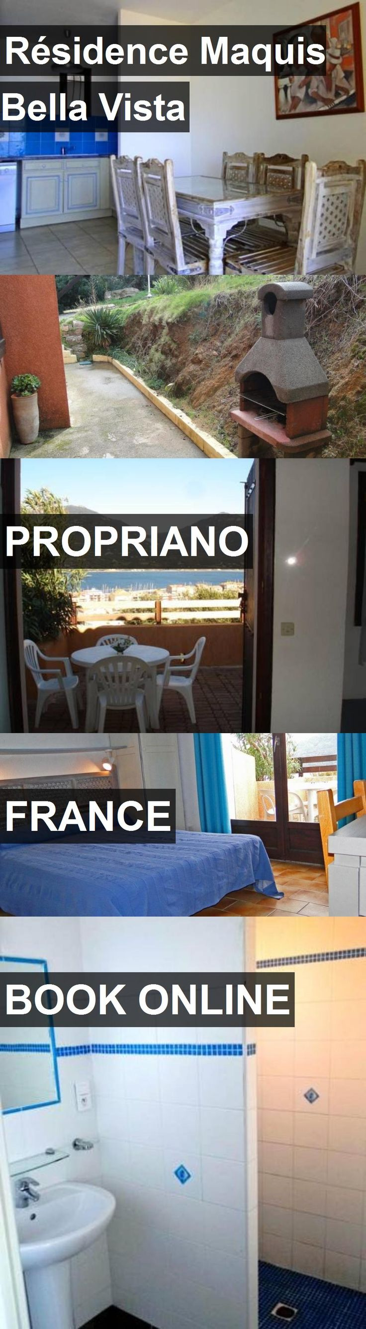 Hotel Résidence Maquis Bella Vista in Propriano, France. For more information, photos, reviews and best prices please follow the link. #France #Propriano #hotel #travel #vacation