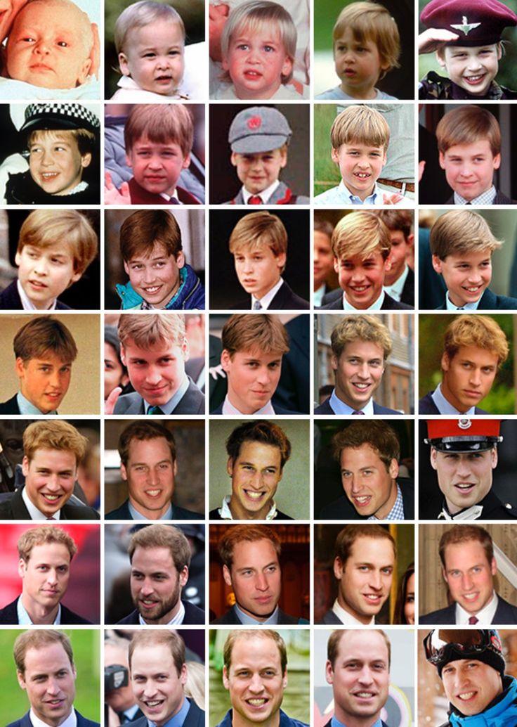 Prince William 1982-2016                                                                                                                                                     More