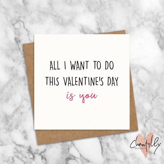 Cheeky Valentine S Day Card All I Want To Do Is You Funny Boyfriend Card Cheesy Girlfriend Card Cheeky Valentines Cards For Boyfriend Naughty Valentines