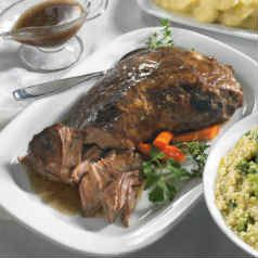 BBQ Ribs & Roasts: Slow-Cooked and tender, simply heat and serve