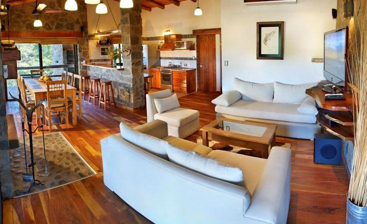 Casa Premium estilo Cabaña sobre el río en Calamuchita -Venta- | Lopez Villagra Inversiones Inmobiliarias