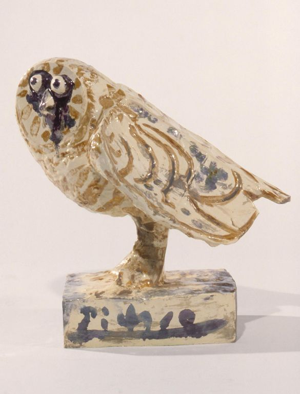 Pablo Picasso (Spanish, 1881–1973)  Angry Owl, 1953  Glazed earthenware  13 1/2 x 14 x 6 3/16 in. (34.29 x 35.56 x 15.7 cm)  Gift of the Bradley Family Foundation
