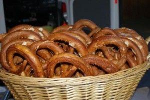 pretzels from the Bathurst Farmers Market