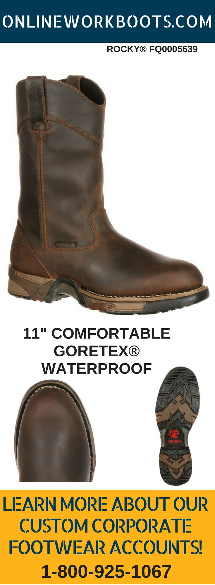 The Rocky® FQ0005639 from www.onlineworkboots.com At 11