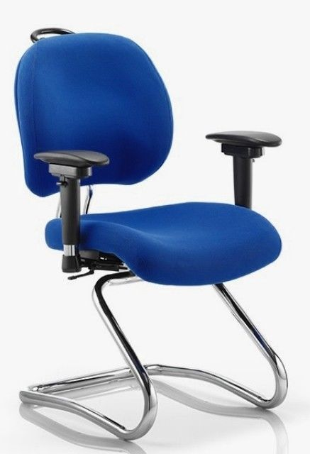 CHIRO PLUS 24hr Ergonomic POSTURE Chiro cantilever Office Chair READY ASSEMBLED!