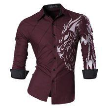 Características de 2018 Primavera Outono Camisas Dos Homens Jeans Casual Camisa Nova Chegada de Manga Comprida Casual Slim Fit Camisas Masculinas Z030(China)