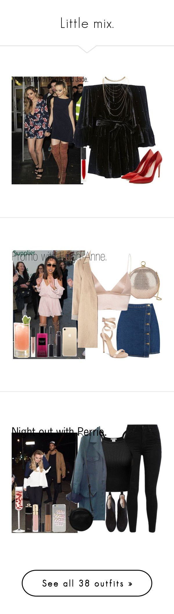 """""""Little mix."""" by carla-limitededition ❤ liked on Polyvore featuring littlemix, JadeThrilwall, JesyNelson, perrieedwards, LeighAnnePinnock, C/MEO COLLECTIVE, Wet Seal, Burberry, Alexander McQueen and Boohoo"""