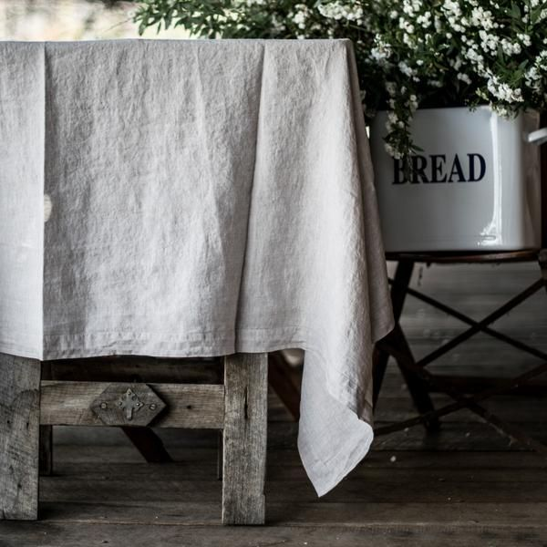 Francalia linen tablecloth - Odgers and McClelland Exchange Stores