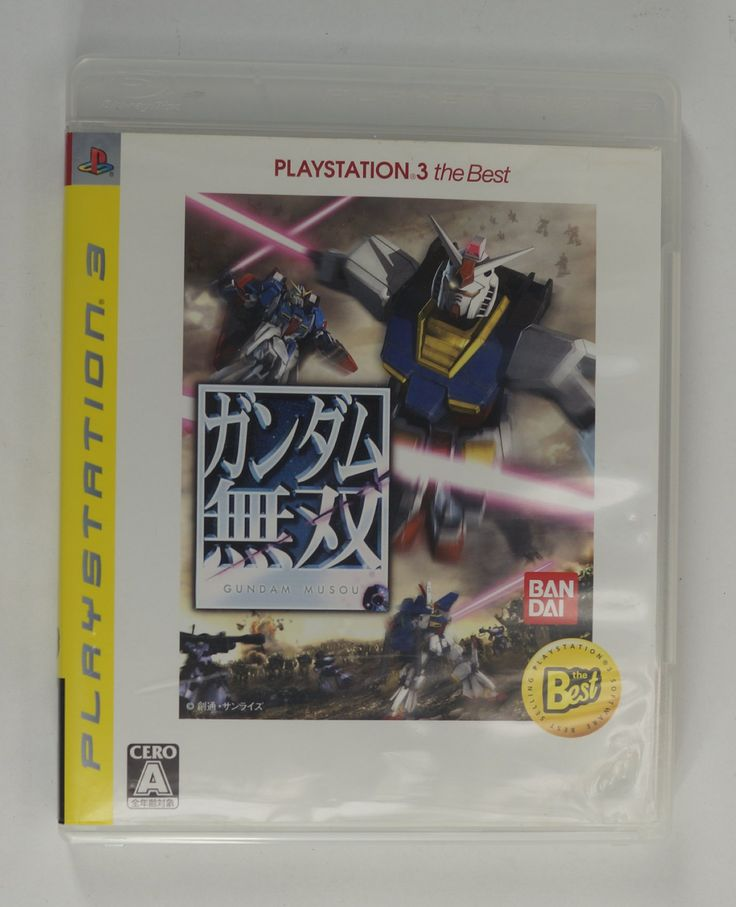 #PS3 Japanese :  Gundam Musou (PlayStation 3 the Best) BLJM-55004 http://www.japanstuff.biz/ CLICK THE FOLLOWING LINK TO BUY IT ( IF STILL AVAILABLE ) http://www.delcampe.net/page/item/id,0375775271,language,E.html