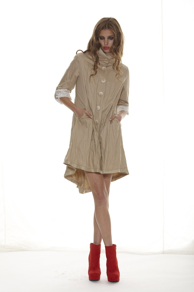 Taylor 'Shadow' Collection, Summer 12/13 www.taylorboutique.co.nz Converge Coat - Sand