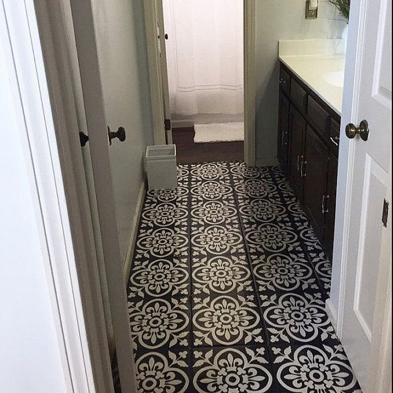 EN-CAUSTIC STYLE MOROCCAN TILE DECAL  O R D E R . P A C K . I N C L U D E S QUANTITY : 44 tile decals SIZE : You can select the size from right side- size drop down button. In case you need a custom size , write to us, we will make it free of cost <3 COLOR: Dark Grey with beige INSTALLATION GUIDE FREE GIFT ❤   A B O U T Our tile decals are right solution to change the look of your existing tiles.We usually renovate our tiles once in a decade, now with our tile decals you can change the look…