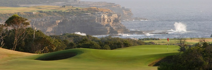 NSW Golf Club - La Perouse, New South Wales. Great scenery and Tony's most memorable golf experience at 1993 Golf Managers' Conference.