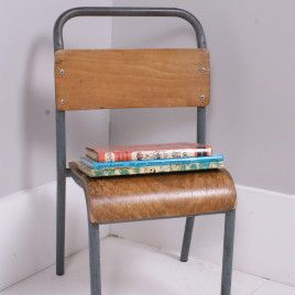 Children's Vintage Metal Legged Stackable Chairs | blueticking.co.uk | Trend | Warehouse Home Design Magazine