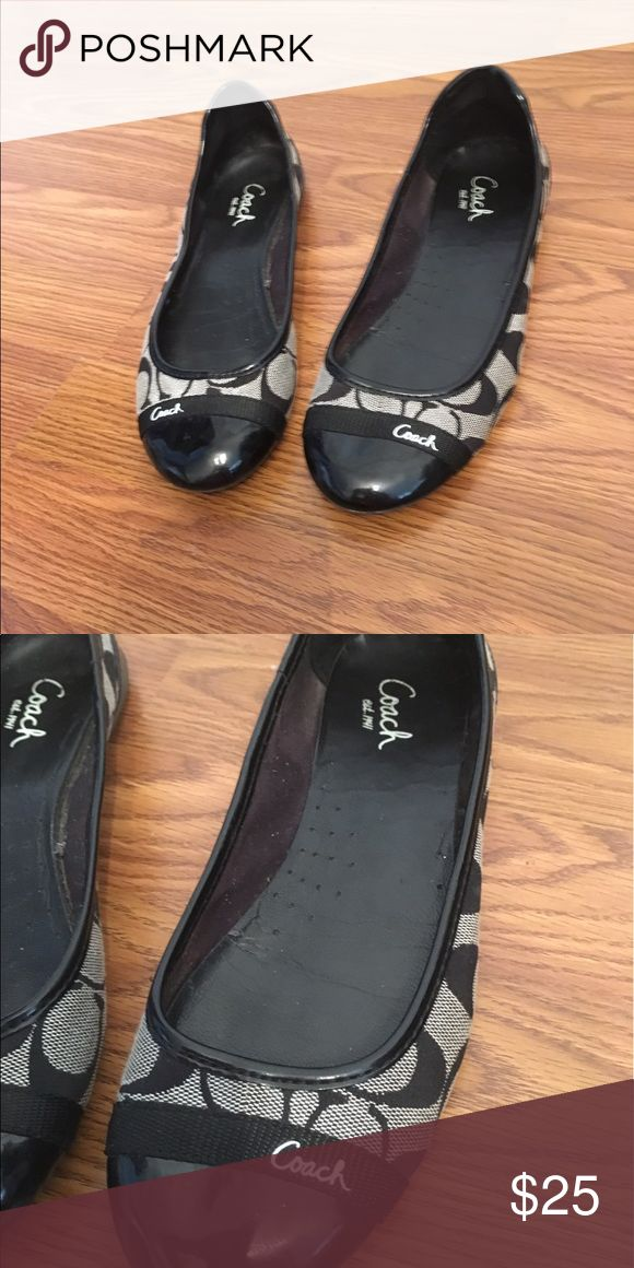 Flats by Coach These are Size 7 1/2. Coach Shoes Flats & Loafers