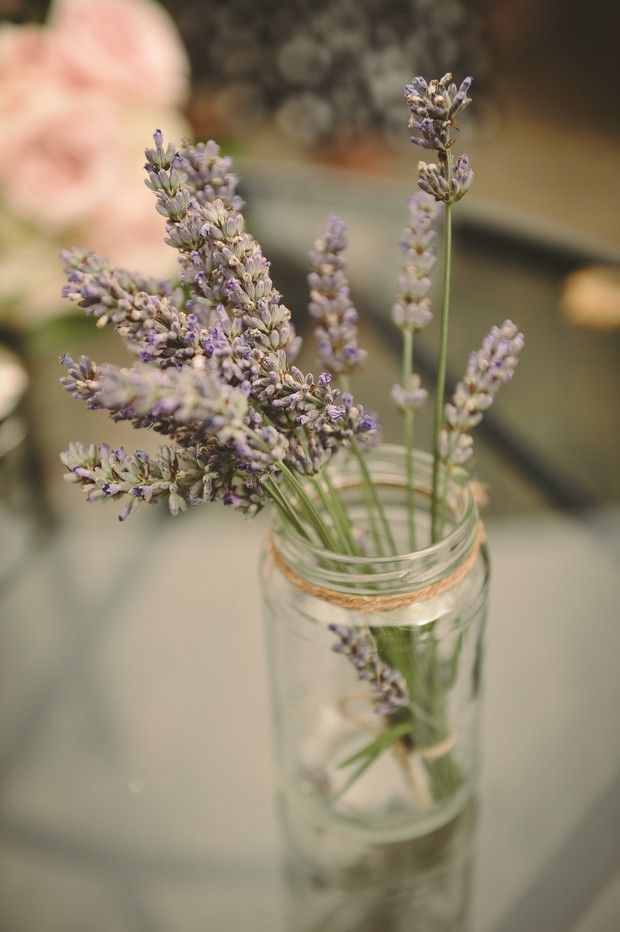 budget wedding decor country rustic lavander springs from Conyngham Arms Hotel
